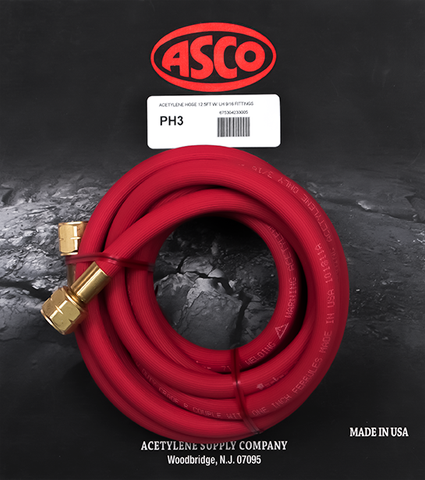 PH3 Acetylene Hose - 12.5 Feet