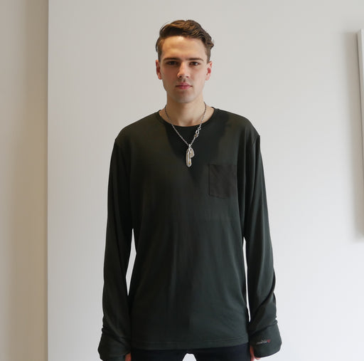 Dumont - Black Long Sleeve T-Shirt - Threadsmiths