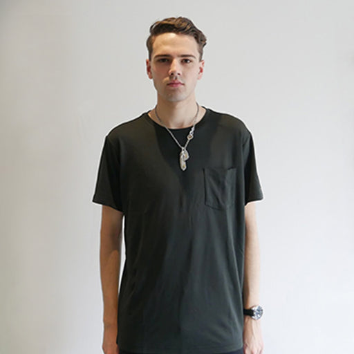Dumont - Black Short Sleeve T-Shirt - Threadsmiths