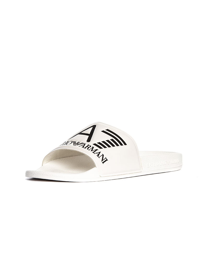 EA7 SANDALS IN WHITE