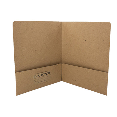 Recycled Presentation Folders - RePocket - Business Card Slot