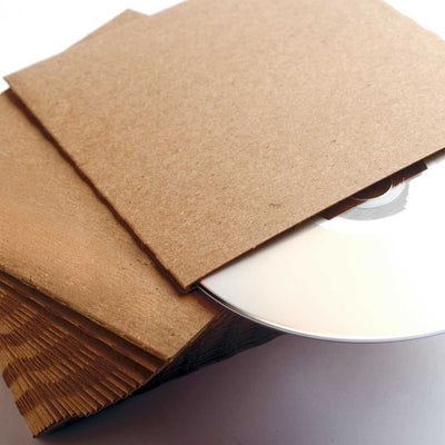 Custom Printed CD Sleeves - Cardboard ReSleeve - Guided  - 3
