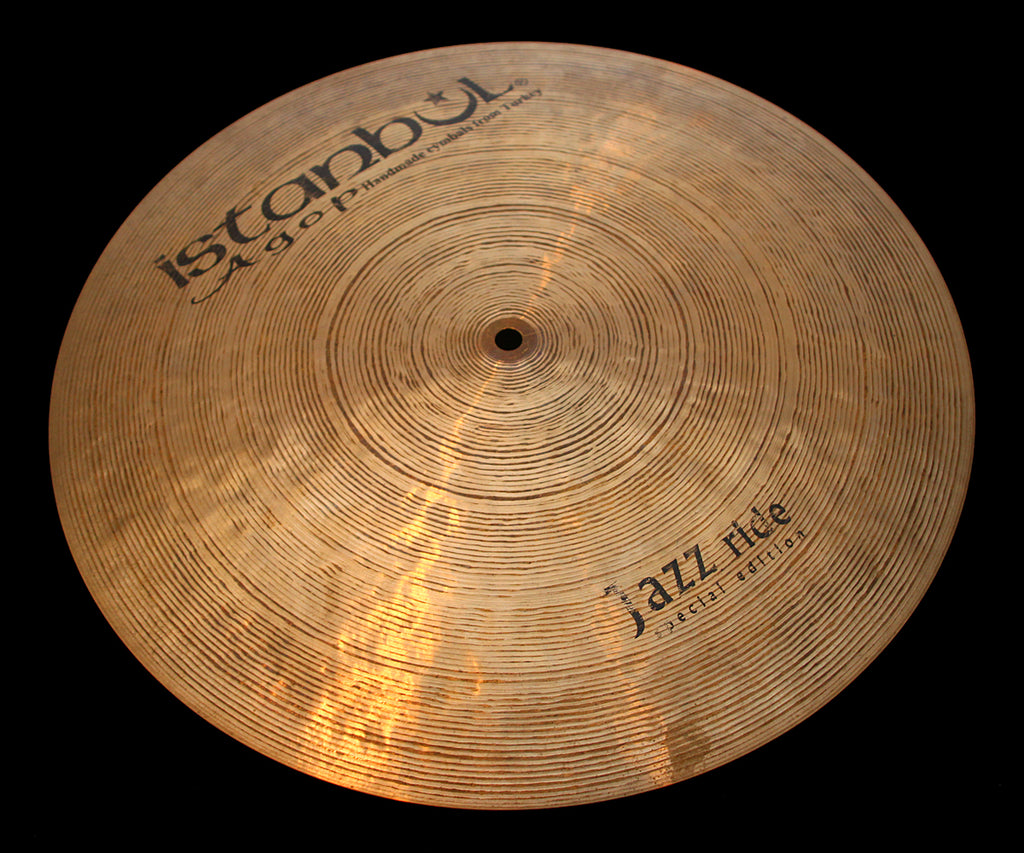 "Agop Special Edition 18"" Flat Jazz Ride (1492g)"