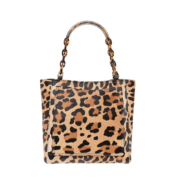 Mini Tote Haircalf Leopard