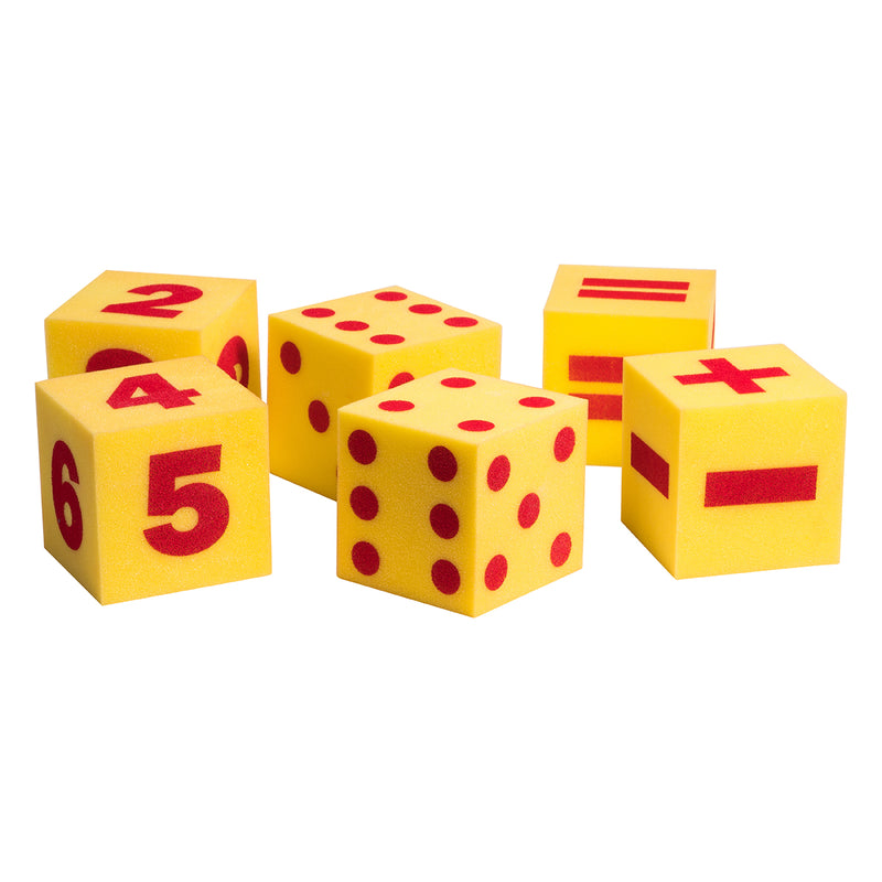Jumbo Foam Dice Set