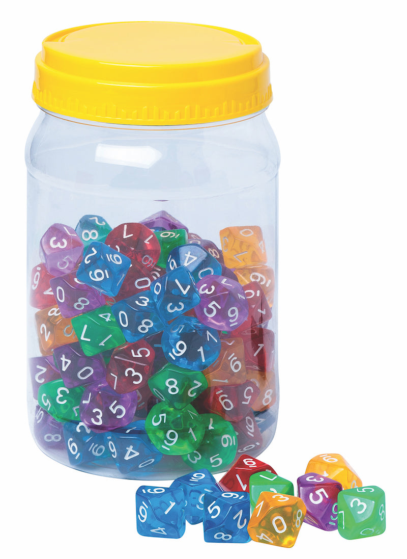 10-Sided Polyhedral Dice Set