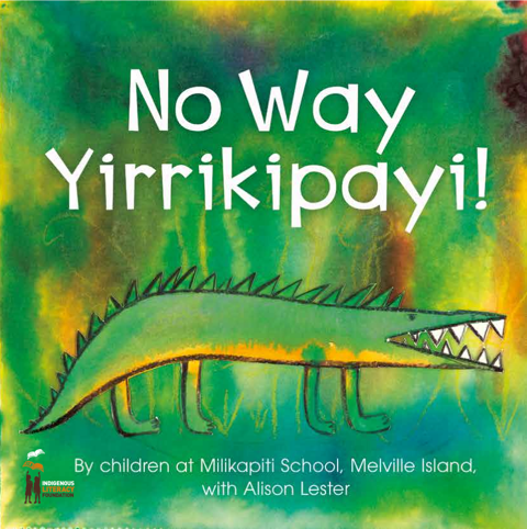NO WAY YIRRIKIPAYI BOOK