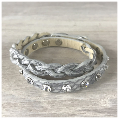 "Miracles by Annelien Coorevits ""Temptation collection"" - Armband Lizzy Grey - Luxedy - 1"