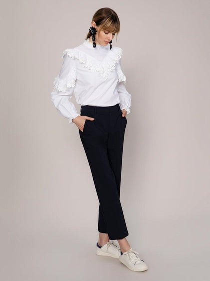 ANKLE LENGTH STRAIGHT LEG PANT