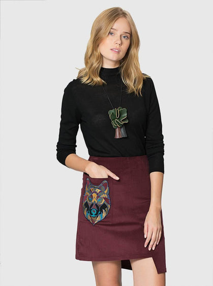 Apparel - ASYMMETRIC SKIRT