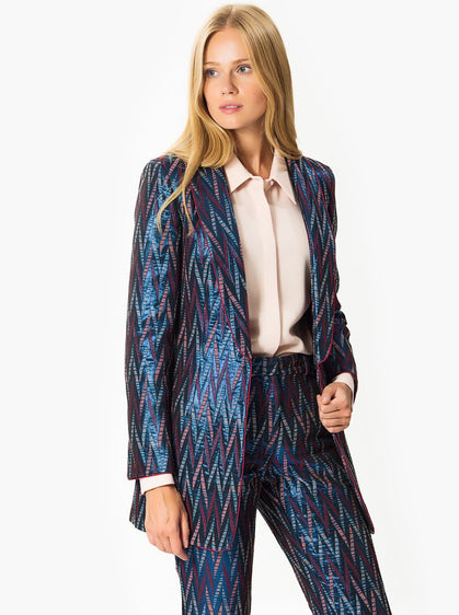 Apparel - Zig-Zag Pattern Jacket