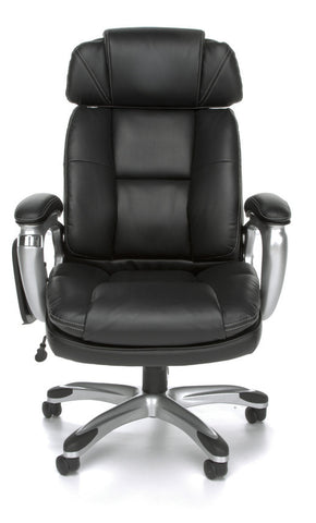 LEATHER TABLET CHAIR W/ADJUST SIDE BOLSTERS