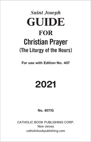 Guide for Christian Prayer 2019 [Large Print]