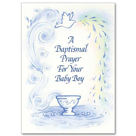 A Baptismal Prayer for your Baby Boy