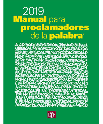 Manual para proclamadores de la palabra 2019 [Workbook for Lectors in Spanish]