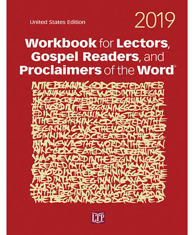 Workbook for Lector, Gospel Readers, and Proclaimers of the Word 2019