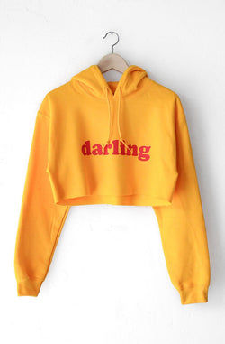 NYCT Clothing Darling Oversized Cropped Hoodie