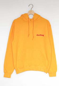 NYCT Clothing Darling Hoodie - Gold