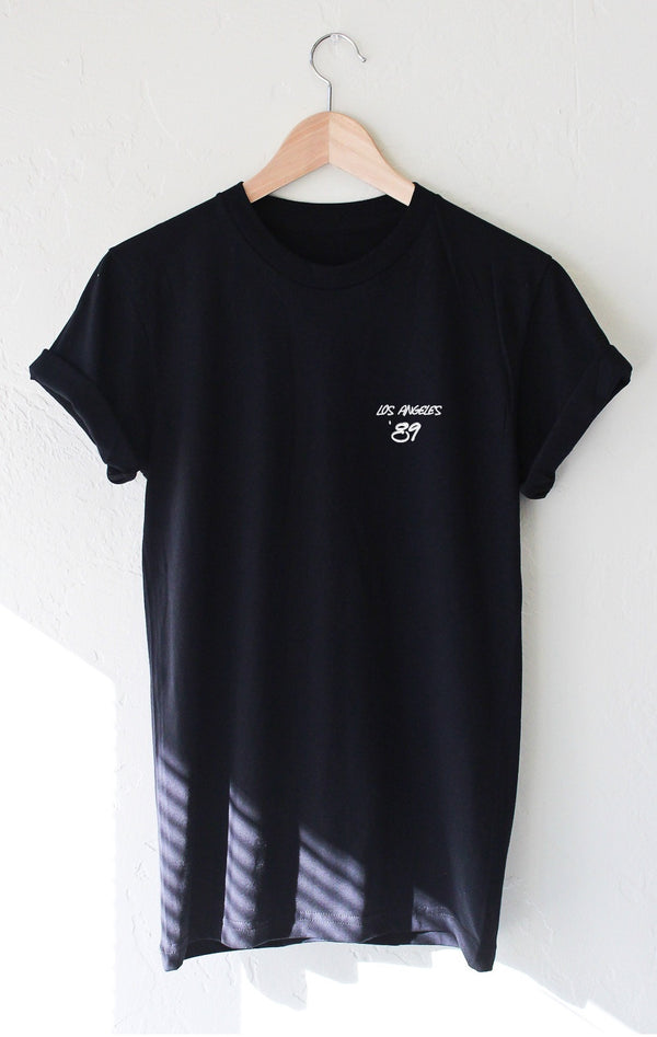 NYCT Clothing Los Angeles '89 Tee - Black