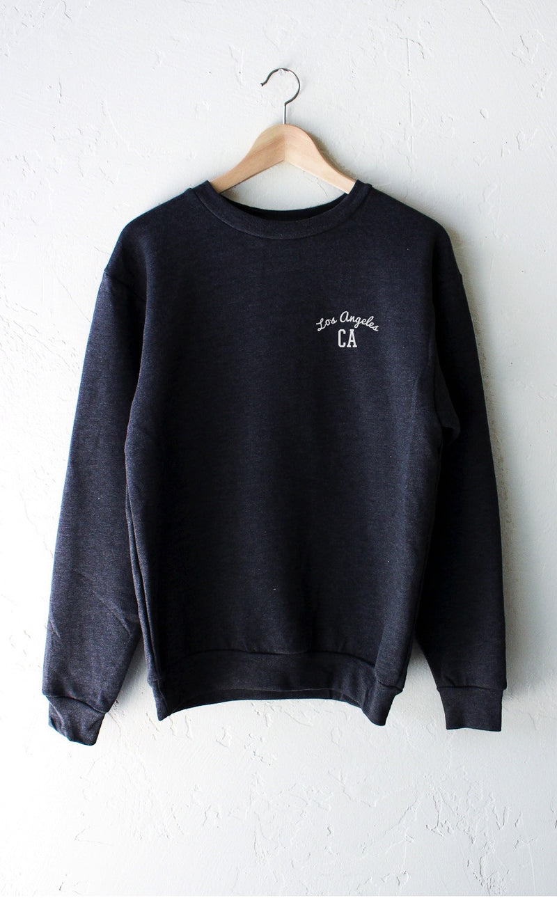 NYCT Clothing Los Angeles CA Sweater - Dark Heather Grey