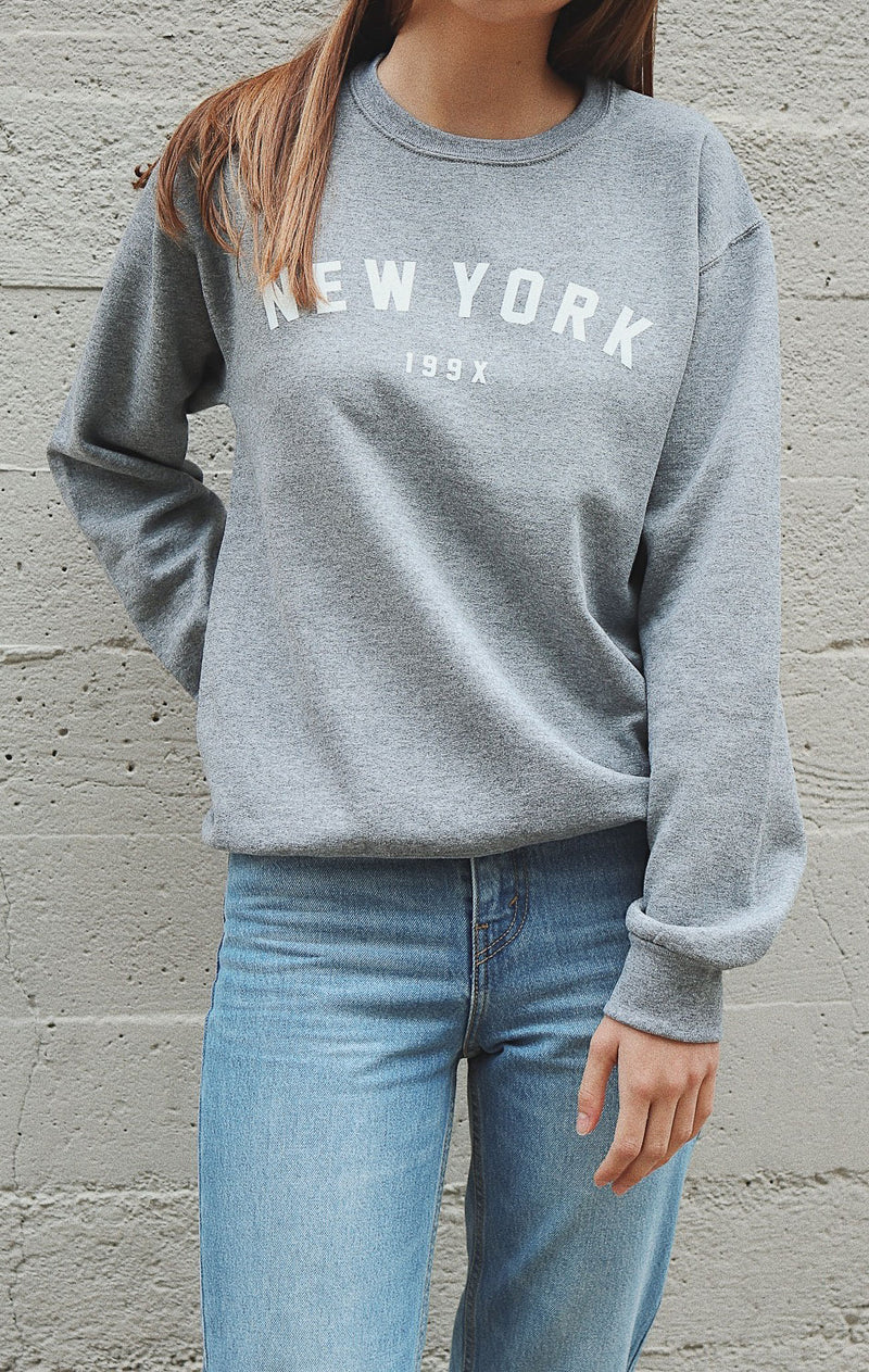 NYCT Clothing New York 199x Sweatshirt - Grey
