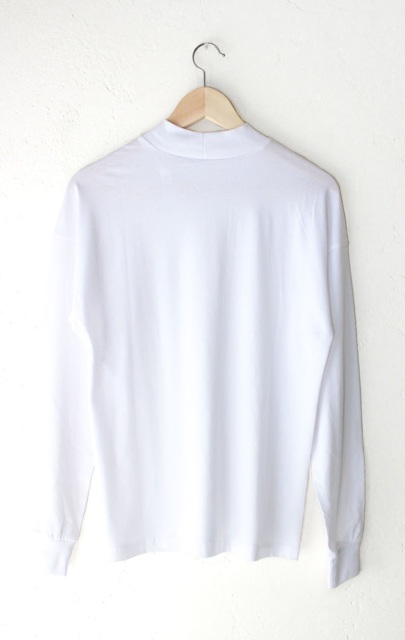 NYCT Clothing Long Sleeve Mock Neck Top