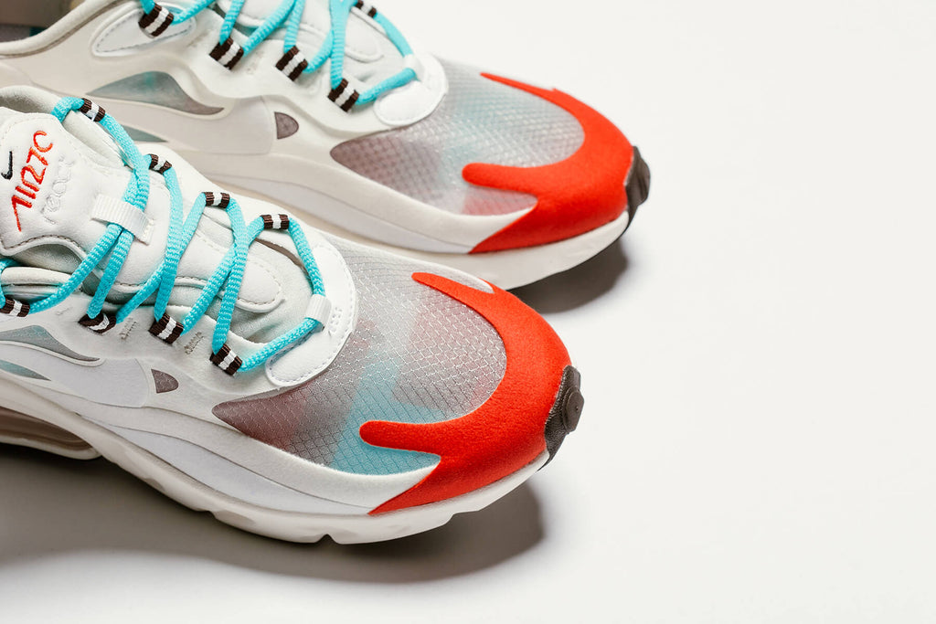 Nike Women S Air Max 270 React Light Beige Chalk Coming Soon