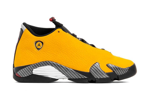 "Air Jordan 14 Retro SE Youth ""Reverse Ferrari"" - University Gold/University Red"