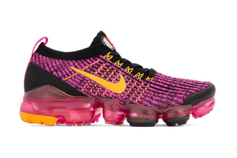 Nike Women's Air VaporMax Flyknit 3 - Laser Fuchsia/ Laser Orange/Black