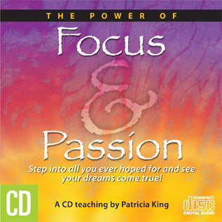 Focus and Passion - CD/MP3 Download by Patricia King
