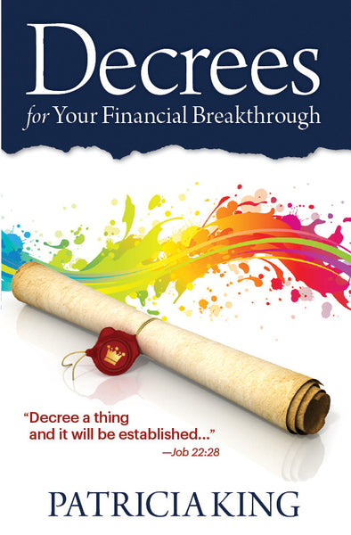 Decrees for Your Financial Breakthrough - Book/E-Book