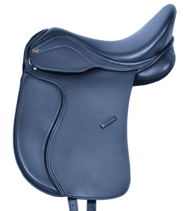 HM FlexEE Finale dressage saddle in black