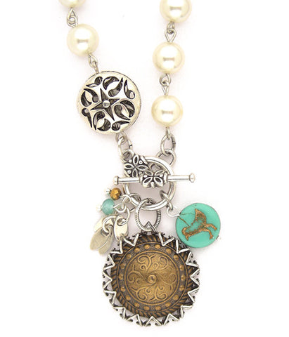 Downtown Girl Necklace - #1104-TN1