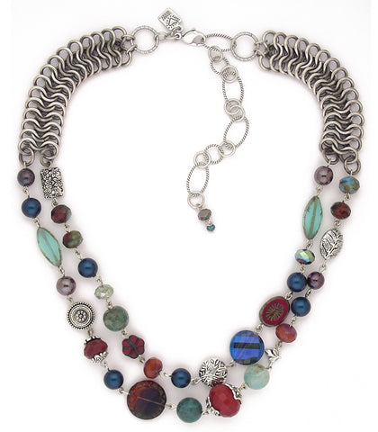 Blue Bell Knoll Necklace - #1108-LKN1