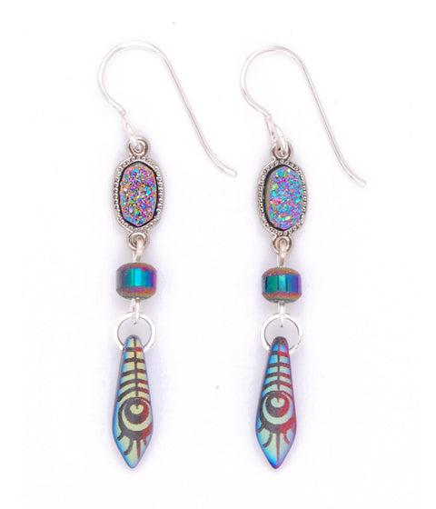 All Fired Up Earring - #1200-E4