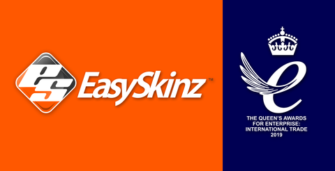 EasySkinz wins the Queen's Award For Enterprise