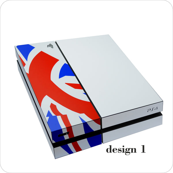 Playstation 4 (PS4) DESIGN KIT White MATT Skin