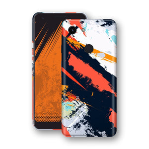 Google Pixel 3a XL Print Custom Signature Abstract Paitning 4 Skin Wrap Decal by EasySkinz - Design 4