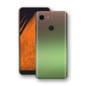 Google Pixel 3a Chameleon Avocado Skin Wrap Decal Cover by EasySkinz