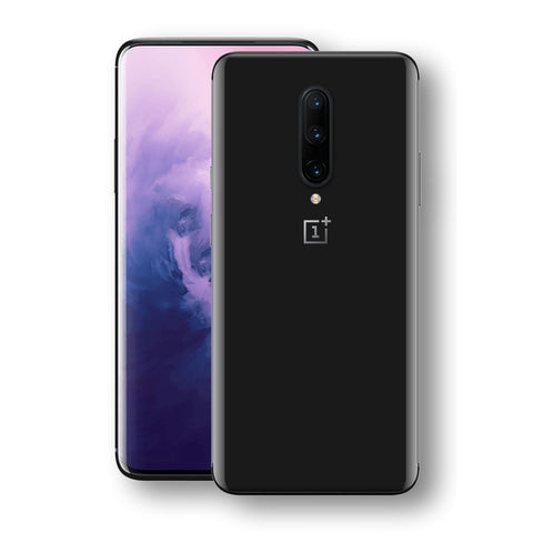 OnePlus 7 PRO Black Matt Skin, Decal, Wrap, Protector, Cover by EasySkinz | EasySkinz.com