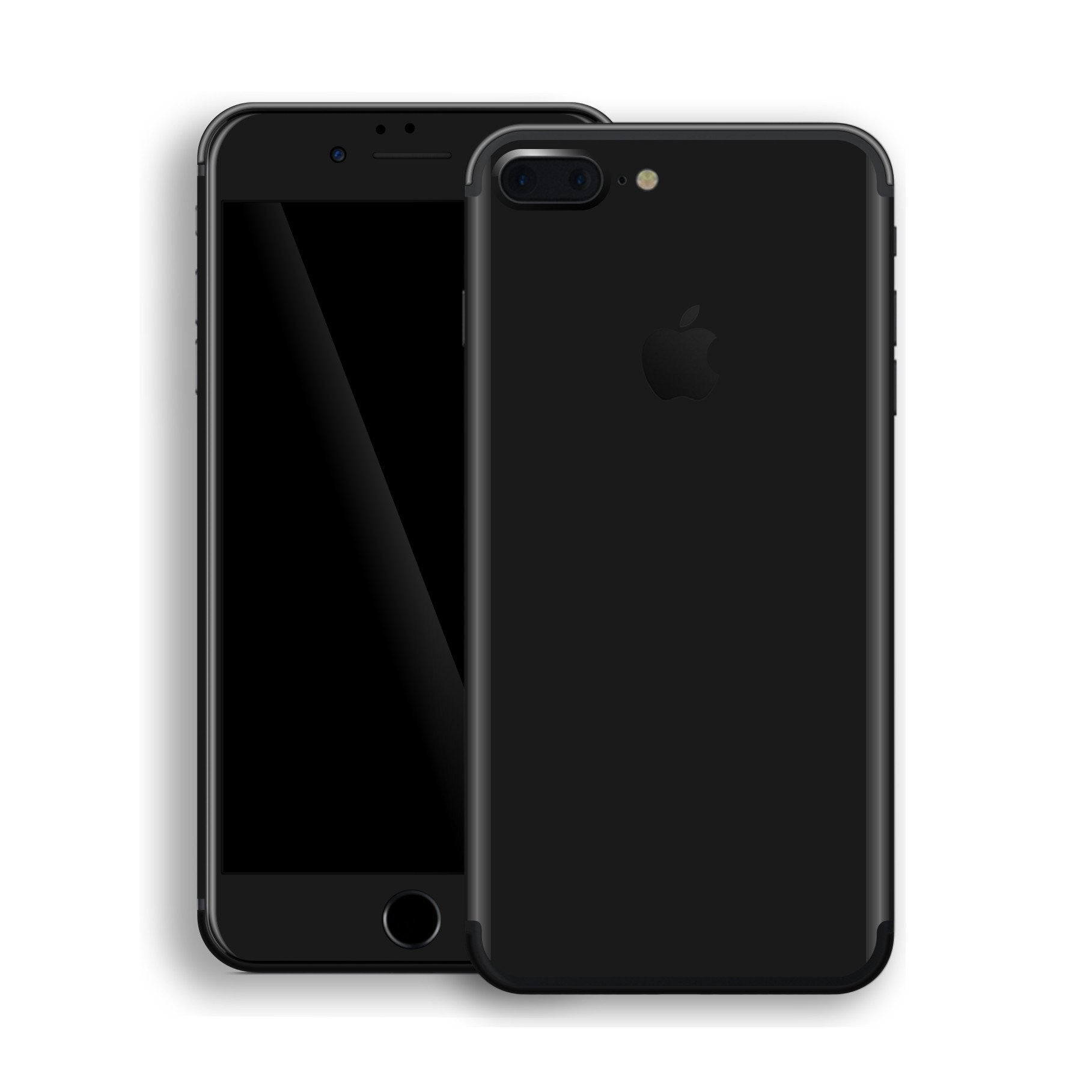 iPhone 7 Plus Black Matt Skin, Decal, Wrap, Protector, Cover by EasySkinz | EasySkinz.com