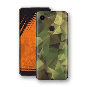 Google Pixel 3a Print Custom Signature Camouflage Abstract Skin Wrap Decal by EasySkinz