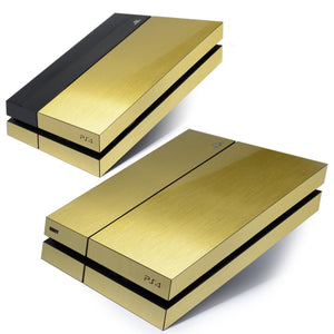 Playstation 4 GOLD skin