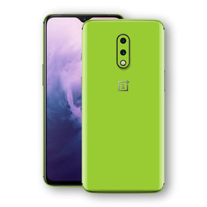 OnePlus 7 Green Matt Skin, Decal, Wrap, Protector, Cover by EasySkinz | EasySkinz.com