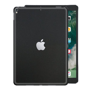 "iPad PRO 12.9"" 2nd Generation 2017 MICRO 3D Textured Black CARBON Fibre Fiber Skin Wrap Sticker Decal Cover Protector by EasySkinz"