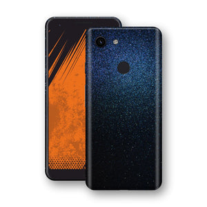 Google Pixel 3a Glossy Midnight Blue Metallic Skin, Decal, Wrap, Protector, Cover by EasySkinz | EasySkinz.com