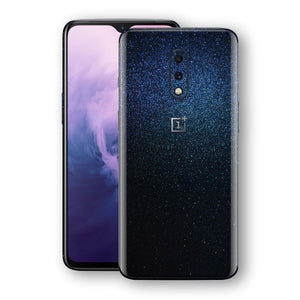OnePlus 7 Glossy Midnight Blue Metallic Skin, Decal, Wrap, Protector, Cover by EasySkinz | EasySkinz.com