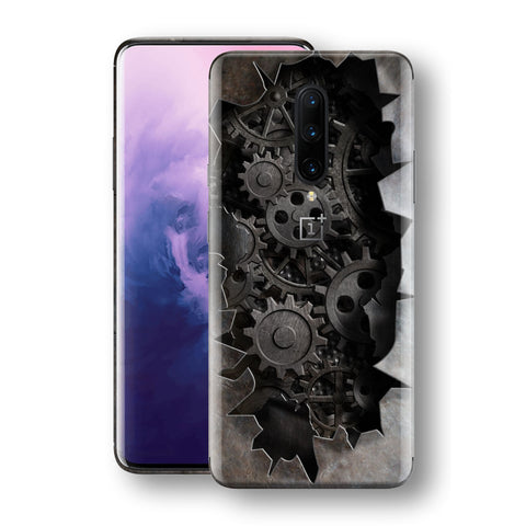 OnePlus 7 PRO Print Custom Signature 3D Old Machine Skin Wrap Decal by EasySkinz