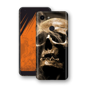 Google Pixel 3a Print Custom Signature Voodoo Skull Skin Wrap Decal by EasySkinz