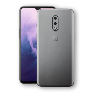 OnePlus 7 Space Grey Matt Metallic Skin, Decal, Wrap, Protector, Cover by EasySkinz | EasySkinz.com